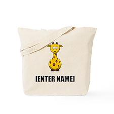 Giraffe Personalize It! Tote Bag