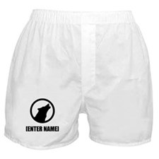 Wolf Personalize It! Boxer Shorts