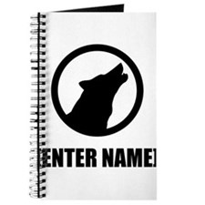 Wolf Personalize It! Journal