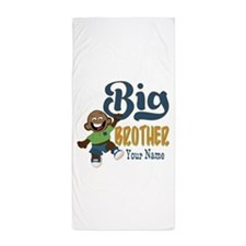 Happy Silly Big Brother Monkey Beach Towel