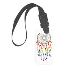 Rainbow Native American Dream Ca Luggage Tag