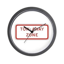 Tow-Away Zone - USA Wall Clock