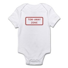 Tow-Away Zone - USA Infant Bodysuit