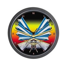1957 Chevy Parts Wall Clock