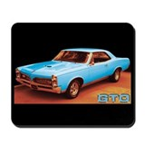 Blue GTO Mousepad