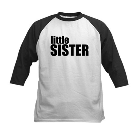 Little Sister Kids Baseball Jersey