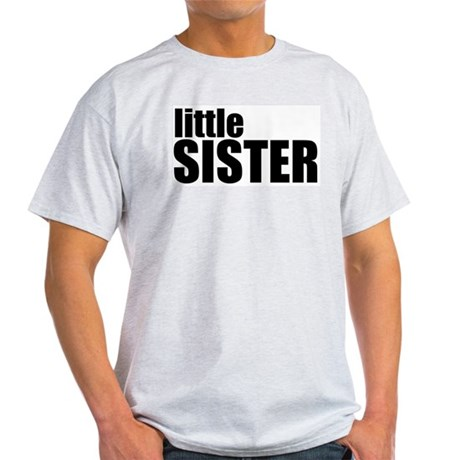 Little Sister Ash Grey T-Shirt