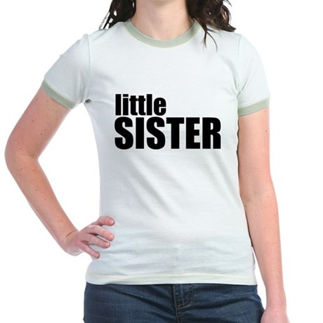 Little Sister Jr. Ringer T-Shirt