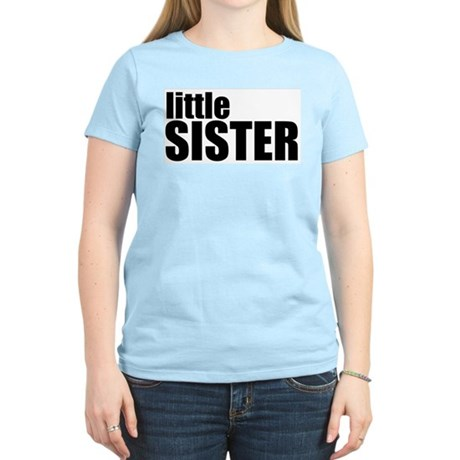 Little Sister Women's Pink T-Shirt