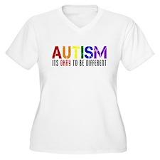 Autism Different Plus Size T-Shirt