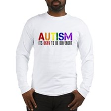Autism Different Long Sleeve T-Shirt