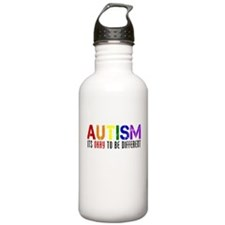 Autism Different Water Bottle