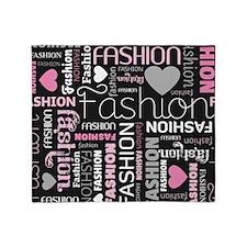 Fashion Love  Throw Blanket