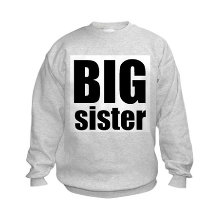 Big Sister Kids Sweatshirt