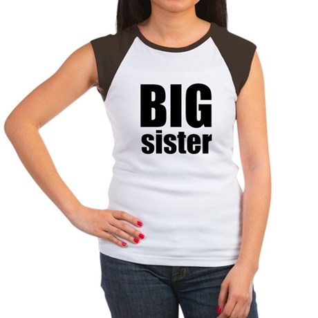 Big Sister Women's Cap Sleeve T-Shirt