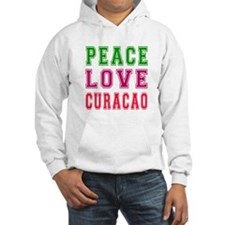 Peace Love Curacao Hoodie