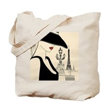 Fashion Week in Paris  Tote Bag