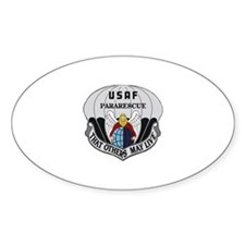 Pararescue Badge Oval Decal