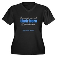 Hero Autism Plus Size T-Shirt