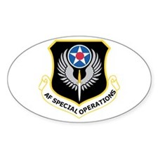 Special Operations Command Oval Decal