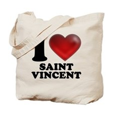 I Heart Saint Vincent Tote Bag