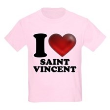 I Heart Saint Vincent T-Shirt