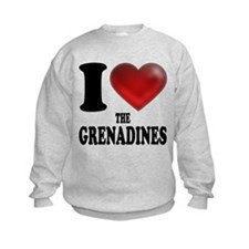 I Heart The Grenadines Sweatshirt