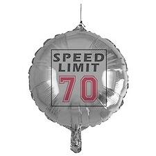 Speed Limit 70 Balloon