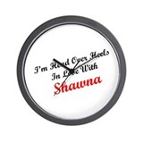 In Love with Shawna Wall Clock