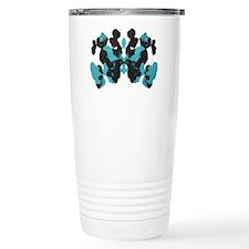 Blue Wednesday Inkblot Travel Mug