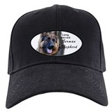 Long Haired German Shepherd Baseball Hat