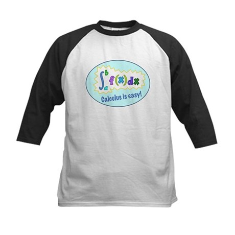 Calculus is Easy Kids Baseball Jersey
