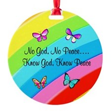 KNOW GOD Ornament