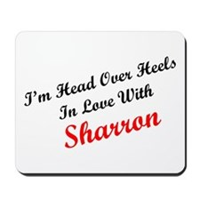 In Love with Sharron Mousepad