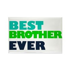 2 Brother Rectangle Magnet