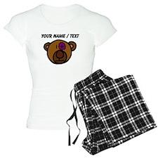 Custom Black Eye Teddy Bear Pajamas