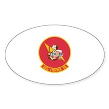 303rd Fighter Squadron Oval Decal