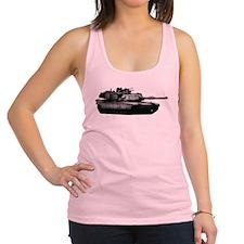 M1 Abrams Racerback Tank Top