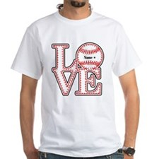Personalized Front and Back Love Baseball Shirt