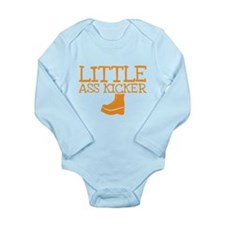 Little ass kicker cute boot baby design Body Suit