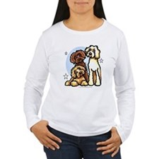 3 Labradoodle Dog Night T-Shirt