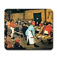 Bruegel - Peasant Wedding, 1568 Mousepad