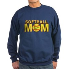 Personalized Softball Mom Jumper Sweater