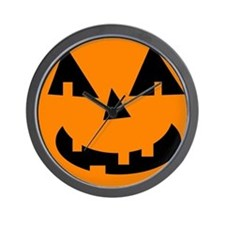 Cute Jack o lantern Wall Clock