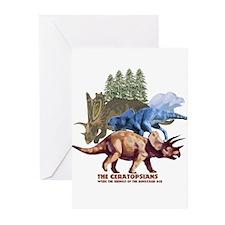 ceratopsians.jpg Greeting Cards (Pk of 10)