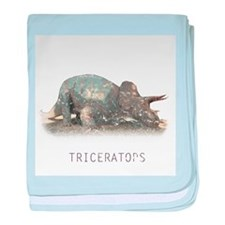3-triceratops.png baby blanket
