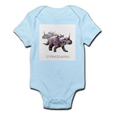 3-styracosaurus.png Infant Bodysuit