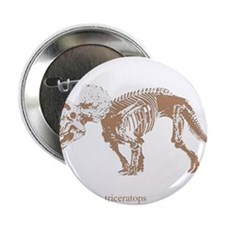 "triceratops skeleton.png 2.25"" Button (10 pack)"