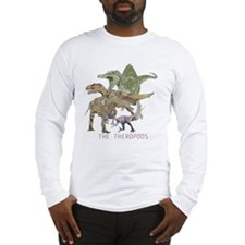 3-theropods.png Long Sleeve T-Shirt