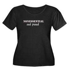 Nonessential and proud Plus Size T-Shirt